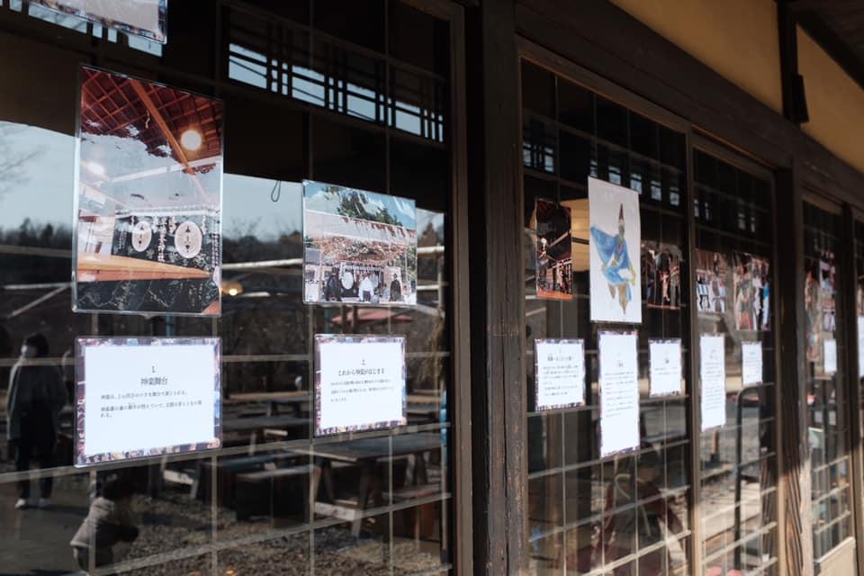 栃木と岩手の郷土芸能展示