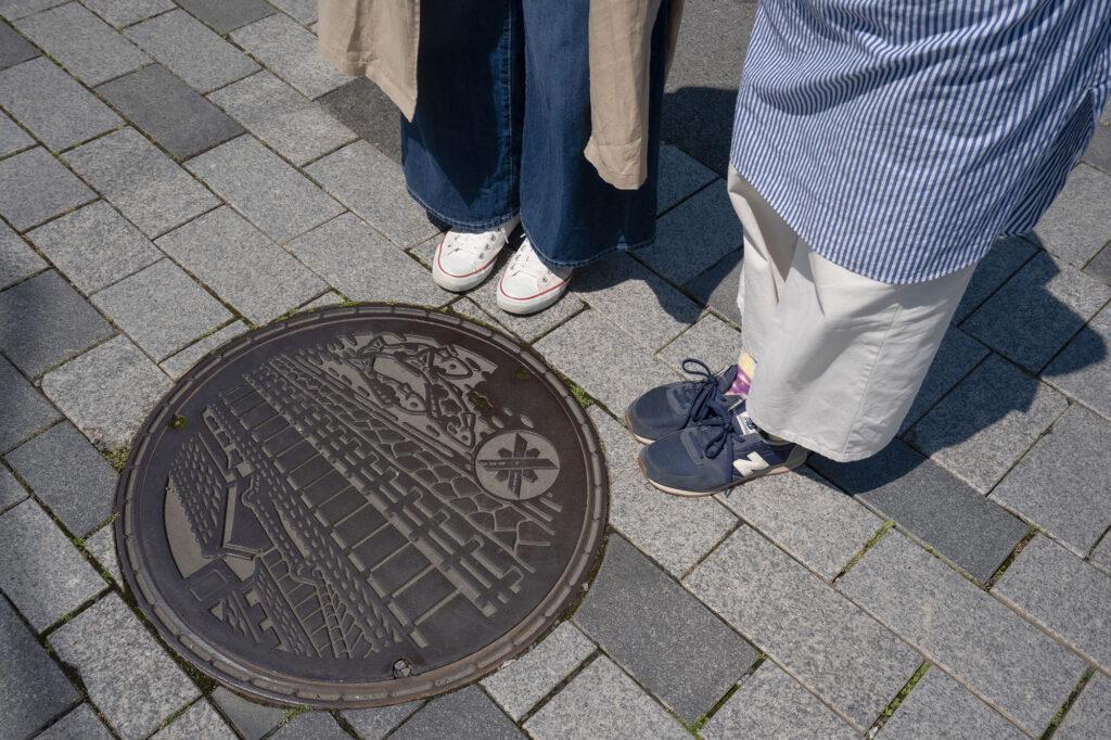 栃木市しもつかれ散歩マンホール